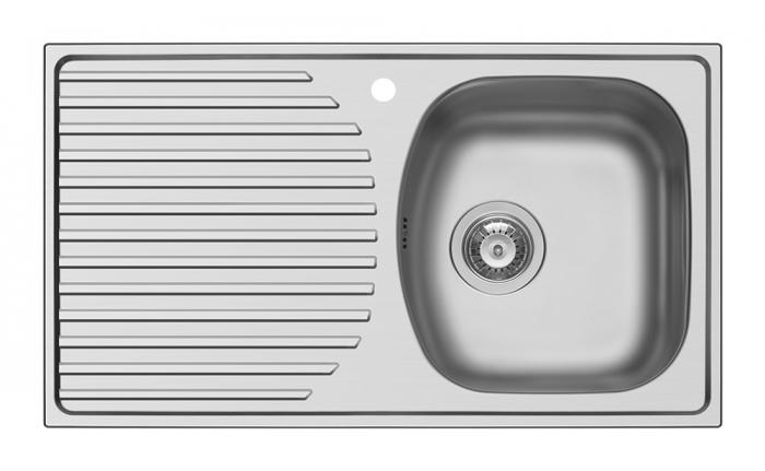 Chiuveta inox Ecoline ASPECT - inox 790mm*450mm DR [0]
