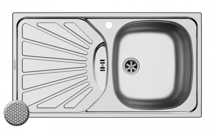 Chiuveta Inox ET78 780mm*435mm DR [0]