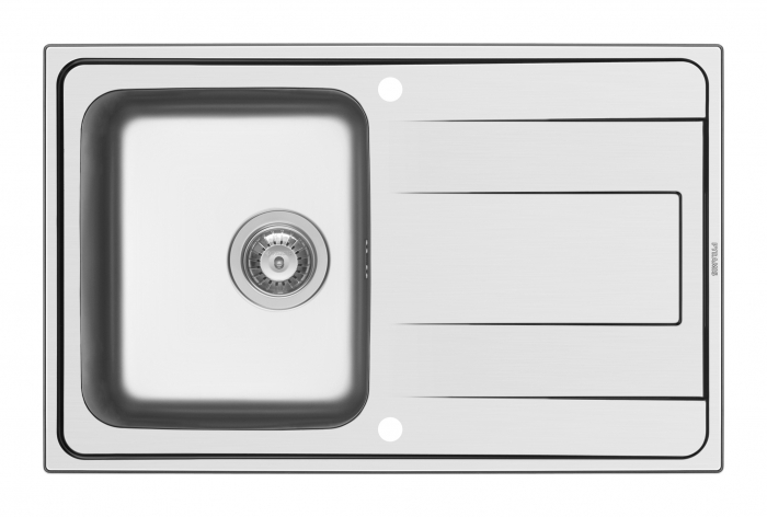 Chiuveta Inox Pyramis ALEA 790mm*500mm [0]