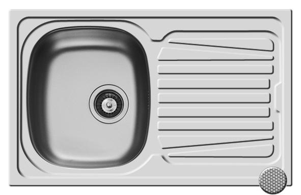 Chiuveta Inox SPARTA 790mm*500mm [0]