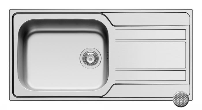 Chiuveta Inox ZEDA EXTRA 1000mm*500mm [0]