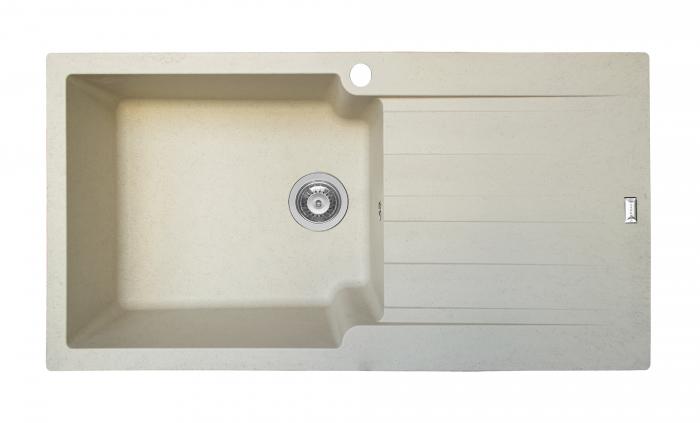 Chiuveta soft compozit Pyramis SIERRA Durothek 100X50 1B1D ST [0]