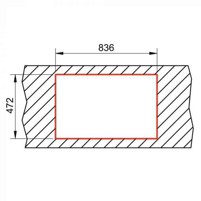 Chiuveta soft compozit Pyramis SIERRA Durothek 1B 1D ST [1]