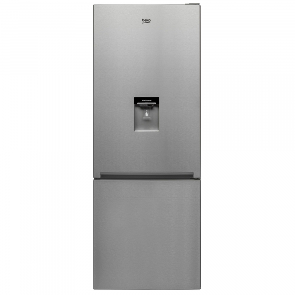 Combina frigorifica Beko RCNE520K20DZX, 450 l, Clasa A+, H 192, Iluminare Led, Inox antiamprenta