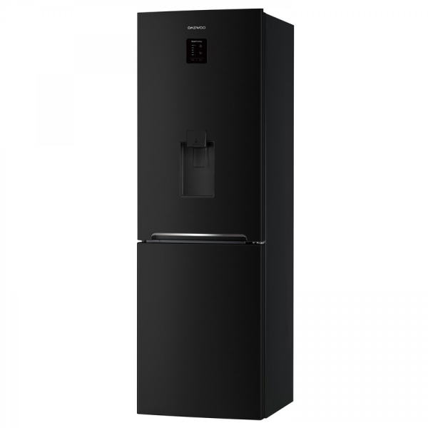 Combina frigorifica Daewoo RN-307RDQB, 305 l, Clasa A+, No Frost, Dispenser apa, Display Touch-Control, H 187 cm, Negru 1