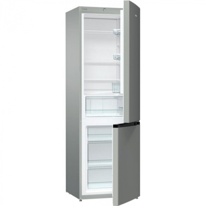 Combina frigorifica Gorenje RK611PS4 , FrostLess, 326 L,Clasa A+,H185 cm, gri 1