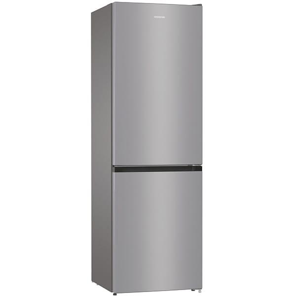 Combina frigorifica GORENJE NRK6191ES4, No Frost Plus, 302 l, H 185 cm, Clasa A+, argintiu [1]