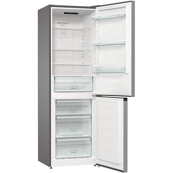 Combina frigorifica GORENJE NRK6191ES4, No Frost Plus, 302 l, H 185 cm, Clasa A+, argintiu [4]