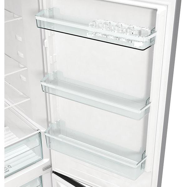 Combina frigorifica GORENJE NRK6191ES4, No Frost Plus, 302 l, H 185 cm, Clasa A+, argintiu [8]
