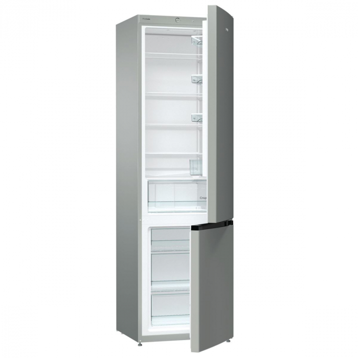 Combina frigorifica GORENJE NRK621PS4, NoFrost Plus, 339 l, H 200 cm, Clasa A+, inox [1]