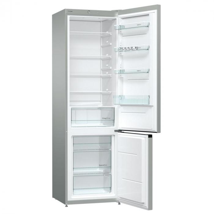 Combina frigorifica GORENJE NRK621PS4, NoFrost Plus, 339 l, H 200 cm, Clasa A+, inox [2]