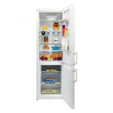 Combina frigorifica Gorenje RK6191AW, 321 l, Clasa A+, H 185 cm, Alb 2