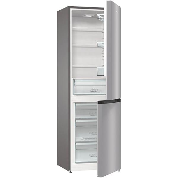Combina frigorifica GORENJE RK6191ES4, FrostLess, 314 l, H 185 cm, Clasa A+, argintiu 5