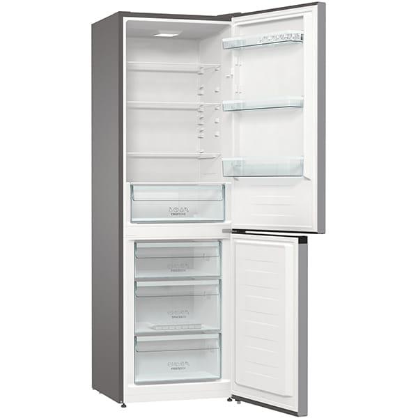 Combina frigorifica GORENJE RK6191ES4, FrostLess, 314 l, H 185 cm, Clasa A+, argintiu 4