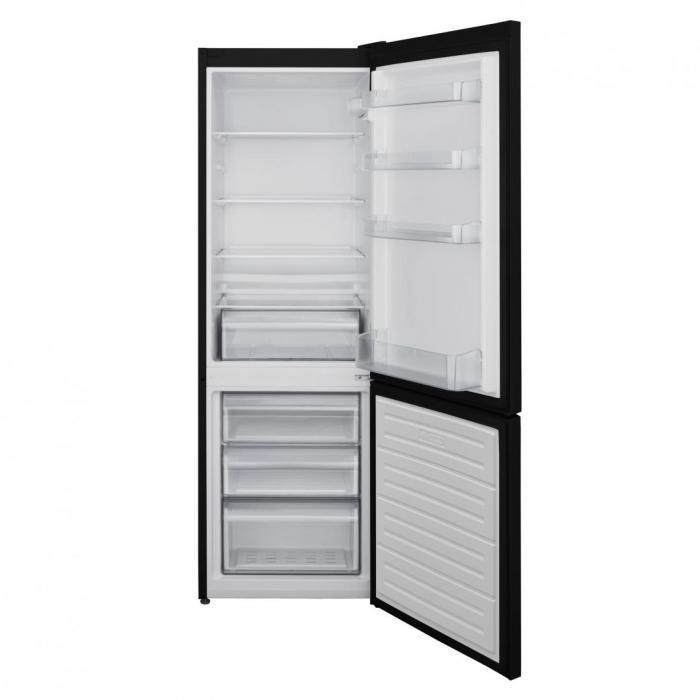 Combina frigorifica Heinner HC-V268BKF+, 268 l, Clasa A+, Control mecanic, H 170 cm, Negru [1]