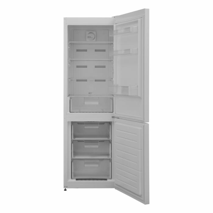 Combina frigorifica Heinner HCNF-V291F+, 295l, Full No Frost, Functie super congelare, Clasa F, H 186 cm, Alb [2]
