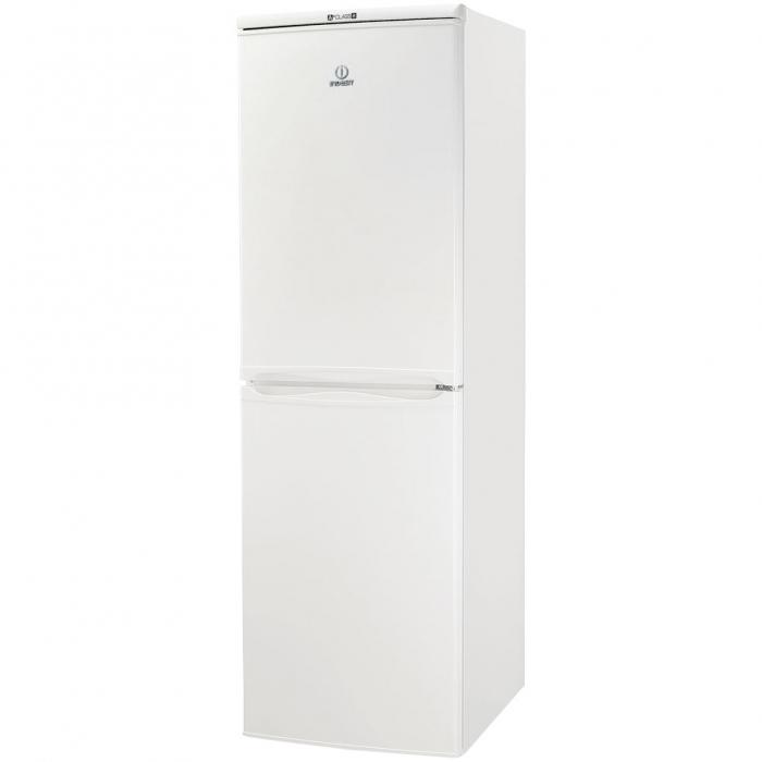Combina frigorifica Indesit CAA 55, 234 l, Clasa A+, H 174 cm, Alb 0