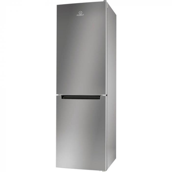 Combina frigorifica Indesit LR8 S1 S, 339 l, Clasa A+, H 187 cm, Silver 0