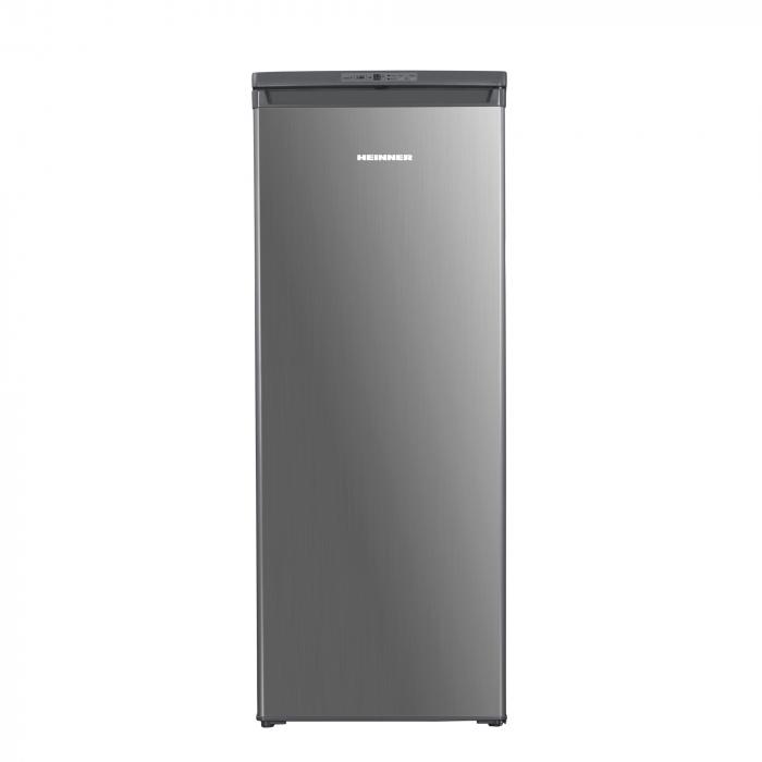 Congelator Heinner HFF-180NHXF+, 163 l, Clasa A+, 6 sertare, Control electronic, H 143 cm, Argintiu 0
