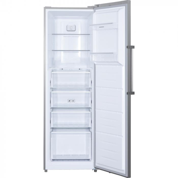 Congelator Heinner HFF-H270NFX+, 262 l, NoFrost, Display, Control electronic, 4 sertare, 2 rafturi, Clasa A+, Inox [1]