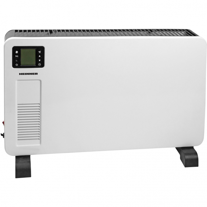 Convector electric Heinner HCVH-Y2300D, 2300 W, display LCD, timer, termostat reglabil, protectie supraincalzire, alb [0]