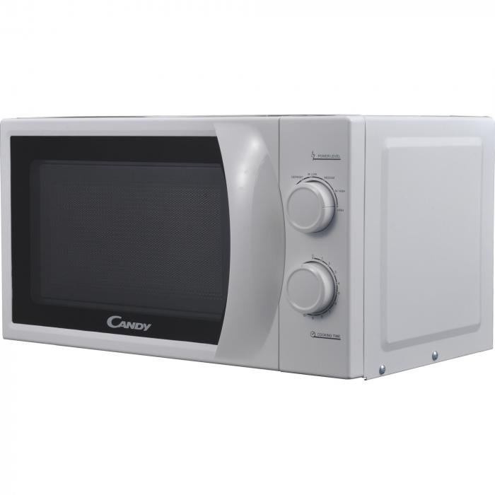 Cuptor cu microunde Candy CPMW 2070M, 20 l, 700 W, Defrost, Mecanic, Alb 3
