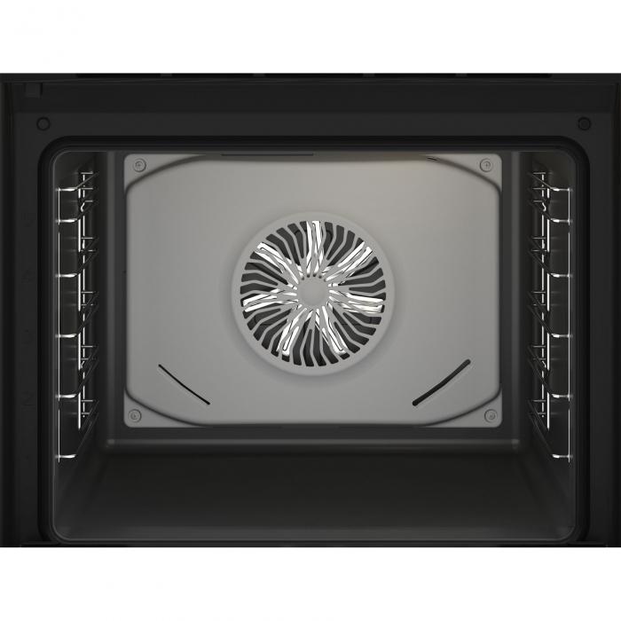 Cuptor incorporabil Beko BBIM13300XM, Electric, 72 l, Autocuratare catalitica, Display touch control, SteamShine Cleaning, Grill, 3D Cooking, Clasa A, Sticla neagra 2