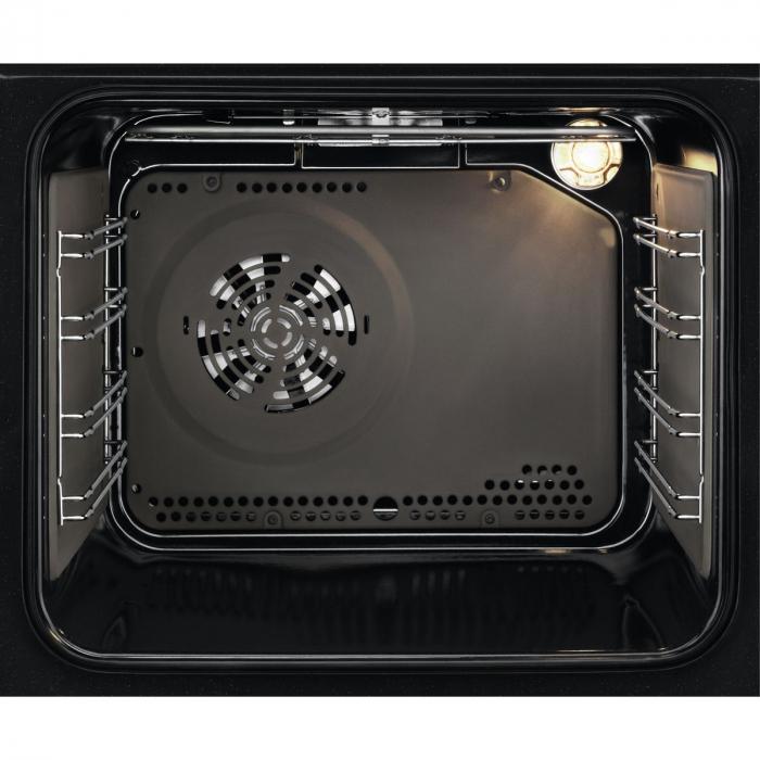 Cuptor incorporabil Zanussi ZOC25601XK, Electric, Autocuratare catalitica, 6 functii, 57 l, Clasa A, Convectie, Grill, Timer, Inox 1