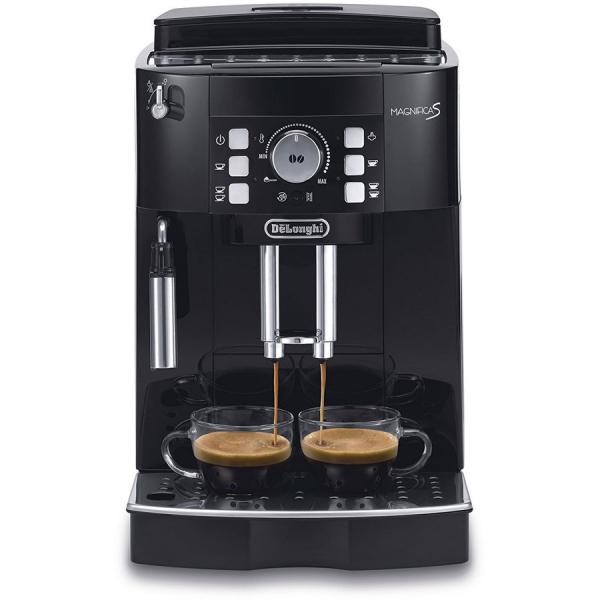 Espressor automat De'Longhi Magnifica S ECAM 21.117.B, 1450 W, 15 bar, 1.8 l, Negru 0