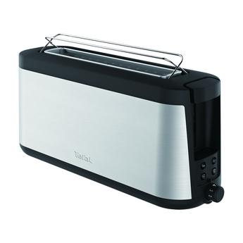 Prajitor de paine Tefal Element TL4308, 1000 W, 7 nivele de control, functie de dezghetare, functie bagheta, inox 0