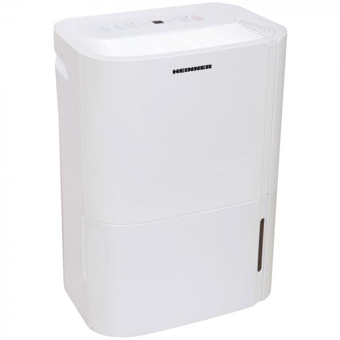 Dezumidificator Heinner HDU-M20, 20L/24h, control electronic, auto-restart, timer 24h, 3L, alb 2