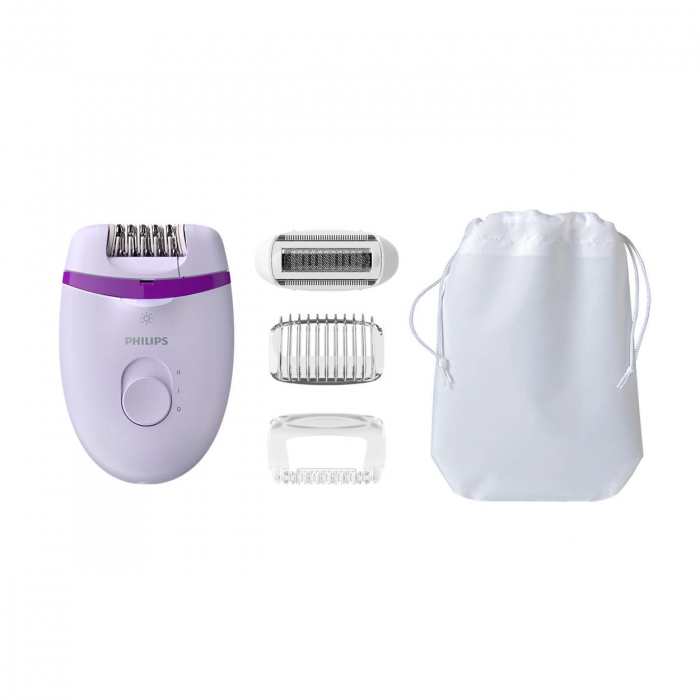 Epilator Philips Satinelle BRE275/00, Lila 0