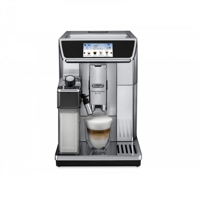 Espressor automat DeLonghi Primadonna Elite ECAM 650.75MS 1450W, 15 bar, 1.8 l, Silver [1]