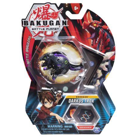 Figurina Bakugan - Darkus Trox Mov/Negru 0