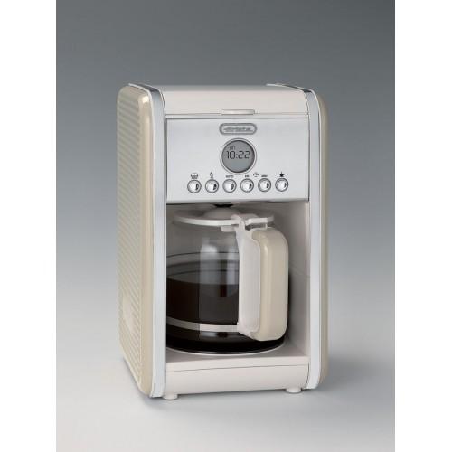Filtru de cafea Ariete 1342 Vintage, 4-12 cesti, Display LCD, Crem / Beige [1]