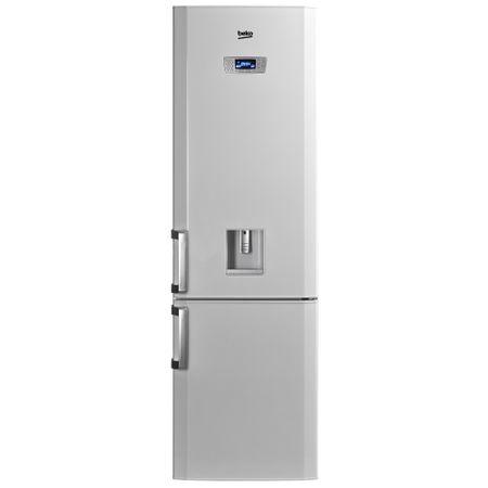 Combina frigorifica Beko DBK386WDR+, 325 l, Clasa A+, H 201 cm, Dispenser apa, Alb
