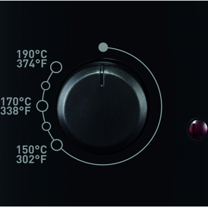 Friteuza Tefal Minicompact FF230831 Principio, 1000W, 0.6 Kg, 1.2L, termostat reglabil, Negru 3