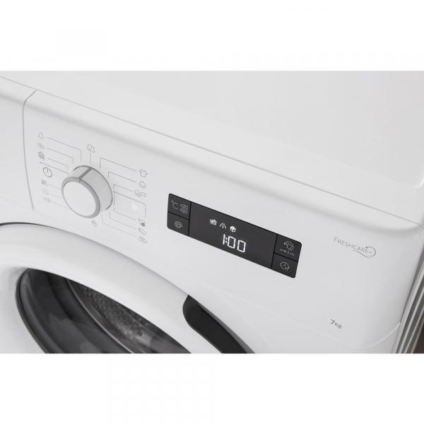 Masina de spalat Whirlpool FWSG 71253 W, 7 kg, 1200 rpm, FreshCare+, SoftMove, Colours15,Clean+, Al 6-lea Simt, Alb 2