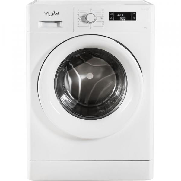 Masina de spalat Whirlpool FWSG 71253 W, 7 kg, 1200 rpm, FreshCare+, SoftMove, Colours15,Clean+, Al 6-lea Simt, Alb 1