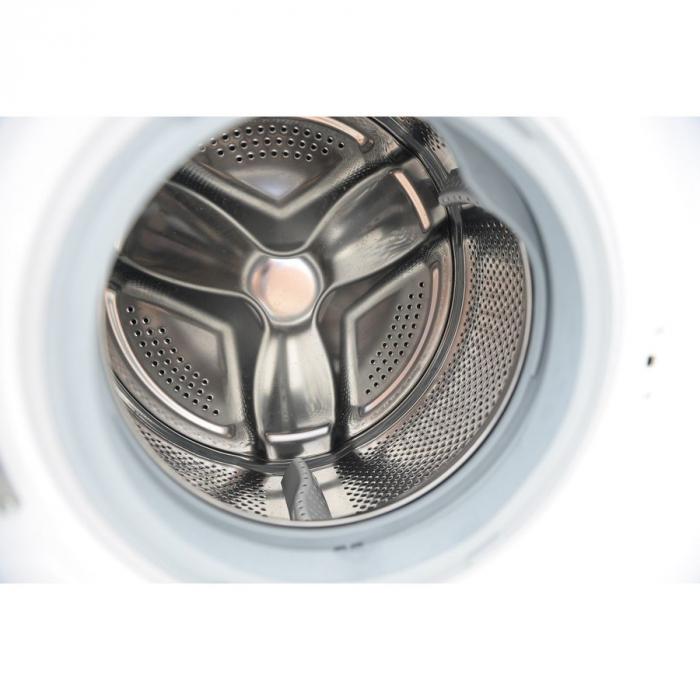 Masina de spalat rufe Heinner HWM-V7010A++, 7KG, 1000 RPM, Clasa A++, Ecran LED, Functie start intarziat, Sistem Eco Logic, 60 cm, Alb [3]