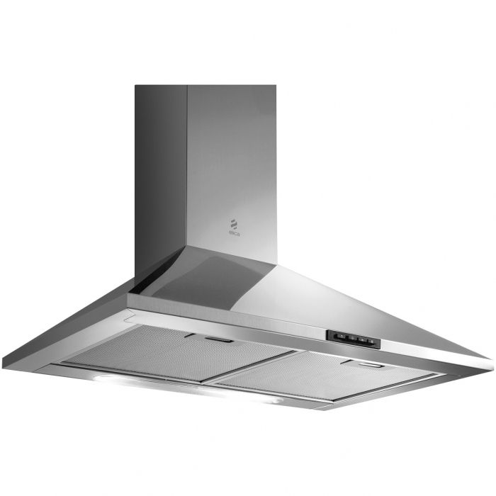 Hota incorporabila decorativa Elica MISSY PB IX/A/60, Putere de absorbtie 395 mc/h, Sistem recirculare, Iluminare LED, Clasa D, 60 cm, Inox [0]