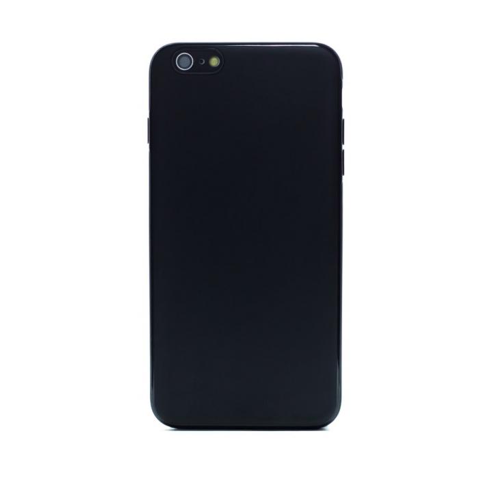 Husa spate silicon iPhone 6 Plus iShield Negru mat [0]