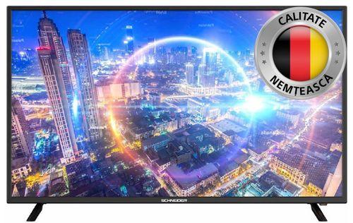 Televizor Smart LED Schneider 100 cm 40SC650, UltraHD, Negru 0