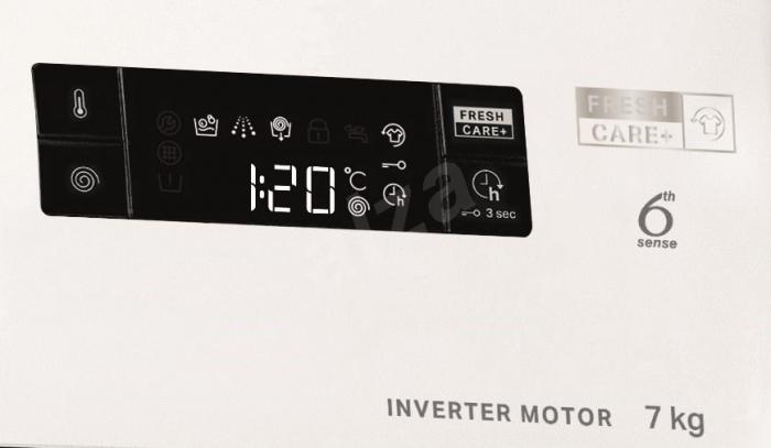Masina de spalat rufe, Whirlpool FFS 7238 B EE, 7 kg, 1200 RPM, Clasa A+++, Alb 2