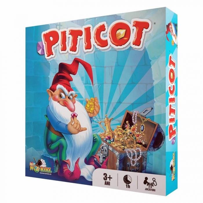 Joc educativ Comoara lui Piticot, 2-4 jucatori, 3 ani + [0]