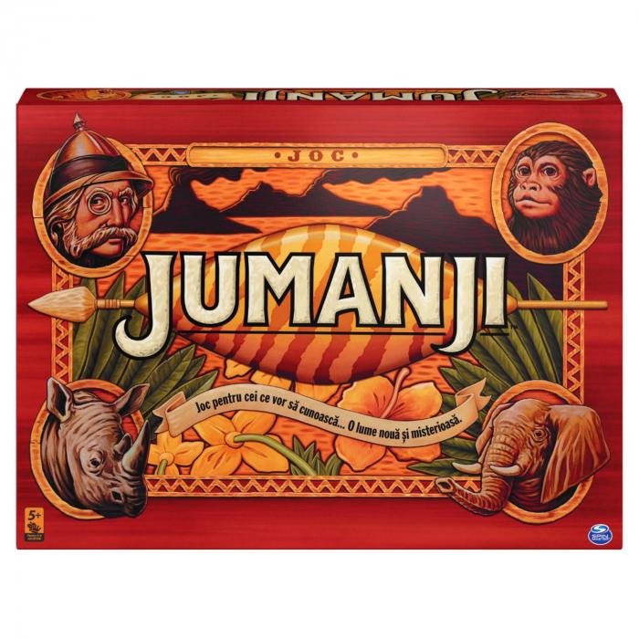 Joc Spin Master - Jumanji, lb. romana [0]