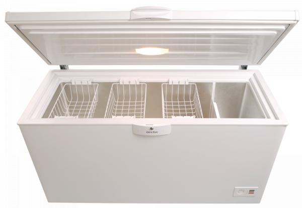 Lada frigorifica Arctic O40+, 360 l, Clasa A+, 2 cosuri, Yala, L 128.5 cm, Alb 1