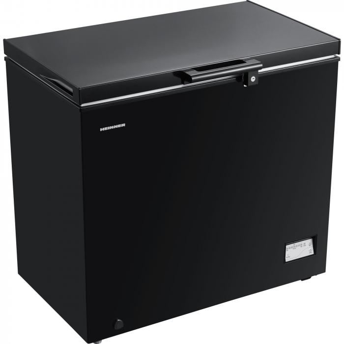 Lada frigorifica Heinner HCF-205NHBKF+, 200 l, Clasa A+, Control elecronic, Iluminare LED, Waterproof Display, Negru 2