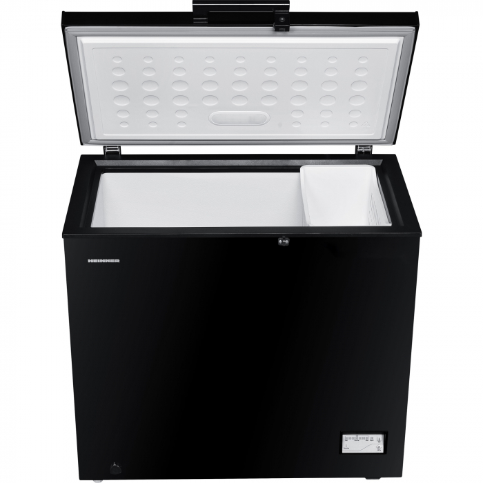Lada frigorifica Heinner HCF-205NHBKF+, 200 l, Clasa A+, Control elecronic, Iluminare LED, Waterproof Display, Negru 3