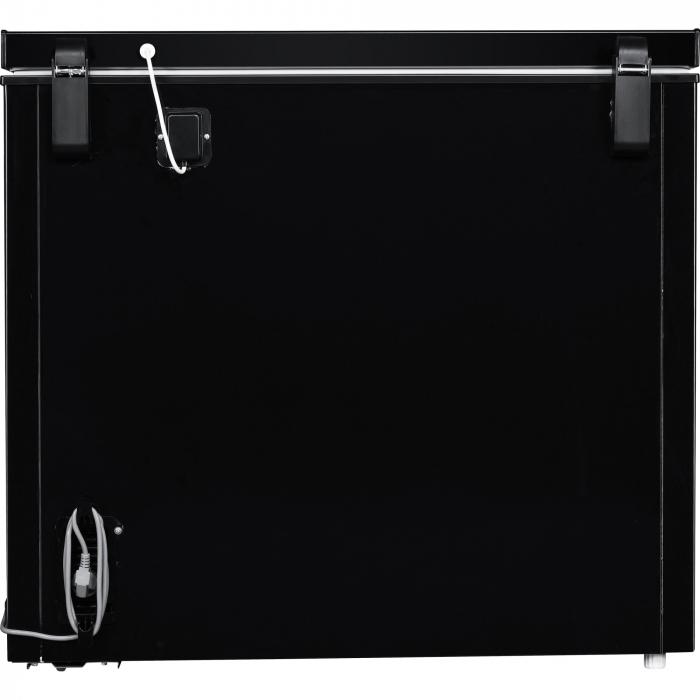 Lada frigorifica Heinner HCF-205NHBKF+, 200 l, Clasa A+, Control elecronic, Iluminare LED, Waterproof Display, Negru 1